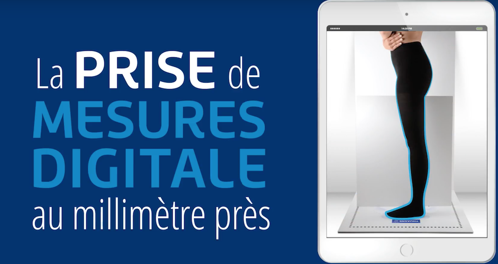 [Vidéo] Thuasne Scan : une application de prise de mesures qui scanne vos patients